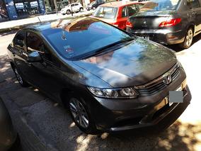 Honda Civic 1.8 Lxs Mt 140cv Gris 2012 Unico Nuevo