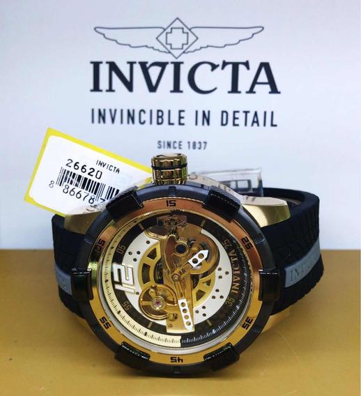 Invicta S1 Rally 26620 Lancamento Original Banhado A Ouro 18