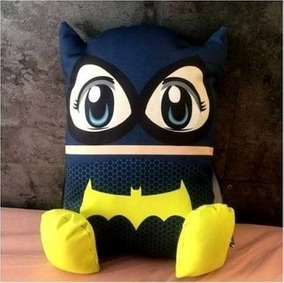 Kit Pillow Toyz Bat Girls + Box Gift - Dc - Oficial - Novo