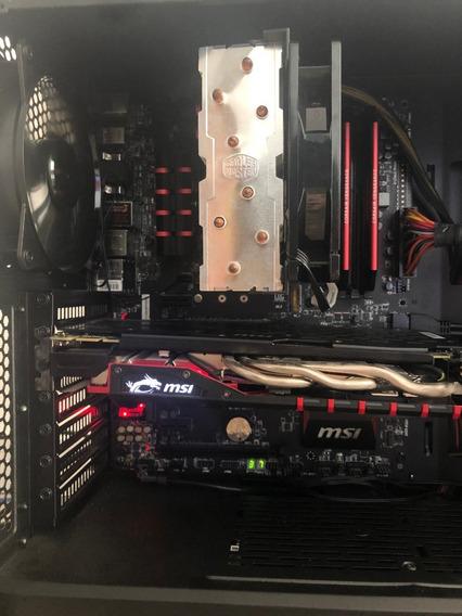 Pc Gamer Intel - Top De Linha - Pouco Usado