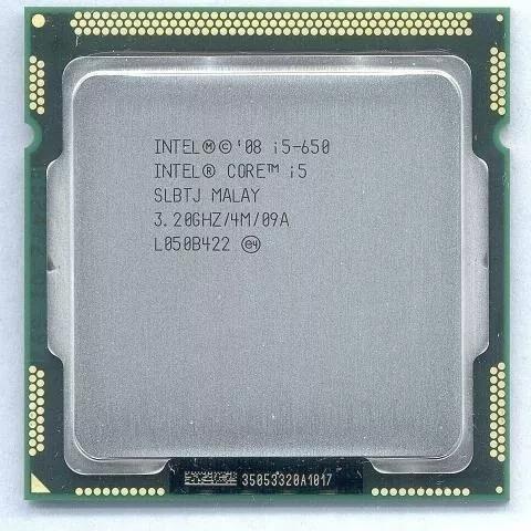 Processador I5-650 3,2 Ghz Lga 1156!