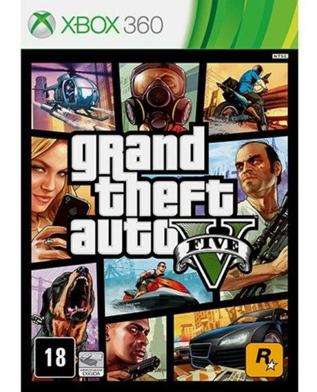Gta 5 Xbox 360 Original Novo Português - Mídia Fisica C/mapa