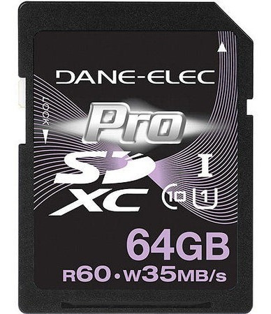 Cartão Sd 64gb Dane-elec Pro Classe 10