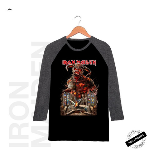 Raglan3/4 Oficial Iron Maiden Legacy Of The Beast Tour 2019