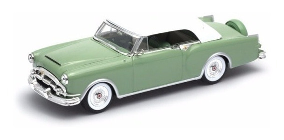 Auto Welly Packard Caribbean Convertible 1953 1:24 Colección