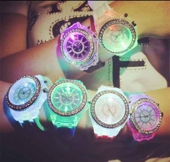 Reloj Para Dama Con Led