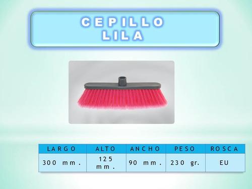 Cepillo De Barrer Lila