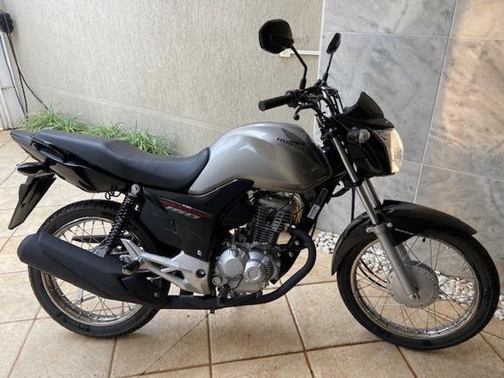 Honda Cg 160 Start - Ano 2020 0km Prata