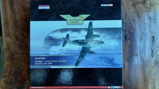 Avião Die Cast 1:72 Messerschmitt 262b Aa35708 - Corgi -