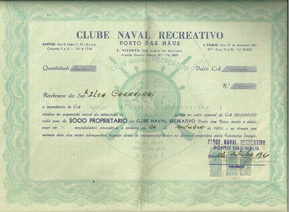 Titulo Iate Clube Naval Recreativo Porto Das Naus