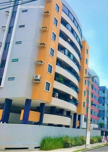 Imagem 1 de 15 de Apartamento - Jatiuca - Ref: 965 - V-ap0543