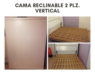 Cama 2 Plazas Reclinable-volcable