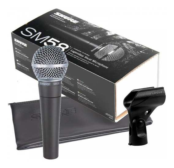 Microfone Shure Sm58 Lc Top Original