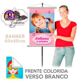 Banner Fotográfico Personalizado 60x40cm