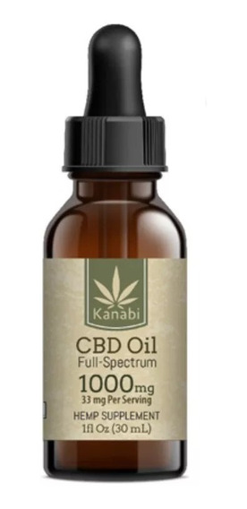 Cbd Oil Kanabi Full Spectrum 1000mg