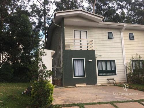 Imagem 1 de 12 de Casa Com 3 Dormitórios À Venda, 150 M² Por R$ 910.000,00 - Granja Viana - Cotia/sp - Ca1205