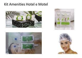 Combo Kit Amenities Hotel Ou Motel -ml125 4 Itens