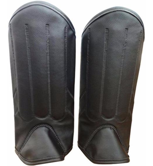 Perneira Segurança Bidim 3 Talas Pvc Fechamento Em Velcro