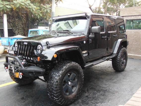 Jeep Wrangler 2011 Sahara Unlimited 4x4 Equipo Extra