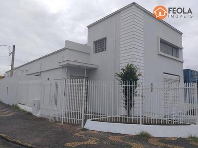 Salão Para Alugar, 250 M² Por R$ 2.800/mês - Jardim São Paulo - Americana/sp - Sl0241