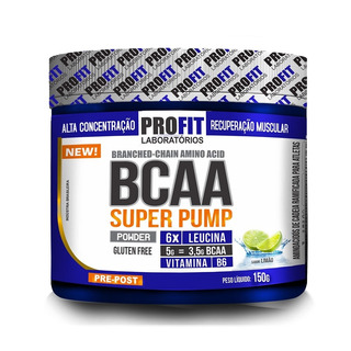 Bcaa Super Pump - 150g Limão - Profit - Trackfiti