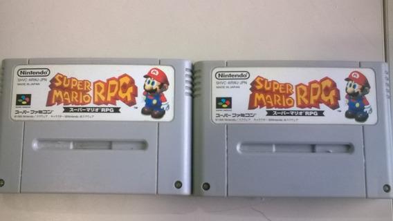 Jogo Super Nintendo Super Mario Rpg Original - Frete Grátis