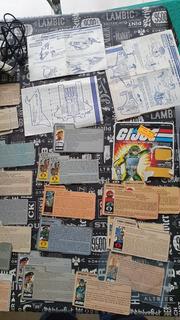 Gijoe Filecard, Instrucciones Y Cartones Originales