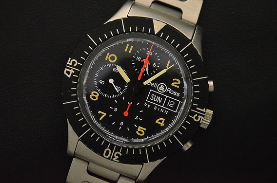 Bell & Ross Military By Sinn 156 - Lemania 5100 Cosc - Lindo