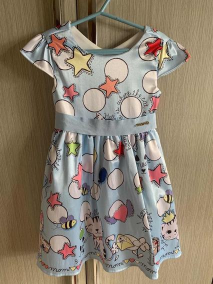 Vestido Infantil Momi Mini 3 Anos