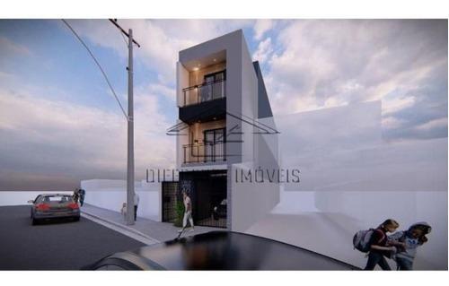 Imagem 1 de 13 de Terreno Com Projeto - 200m² Na Vila Prudente !!