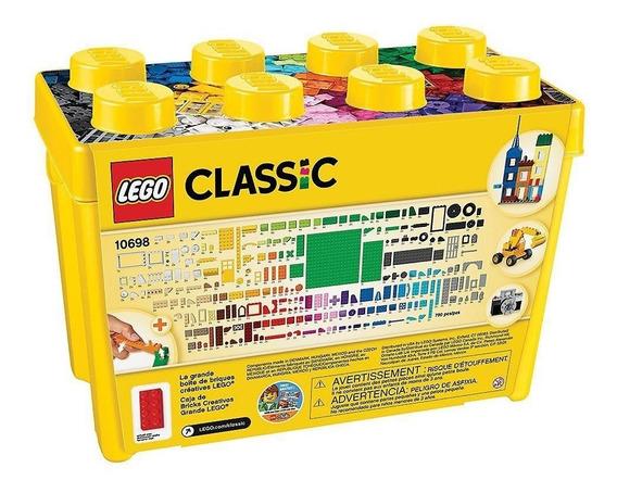 Lego Classic Caja De Bricks Creativos Grande Lego 10698