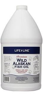 Life Line Wild Alaska Pescado De Pescado 128 Onza