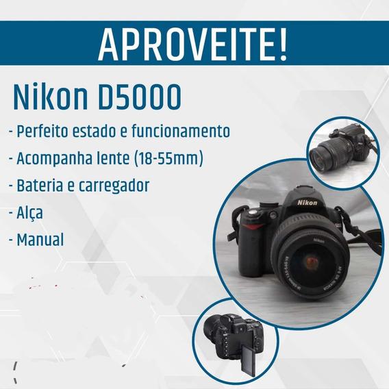 Câmera Nikon D - 5000