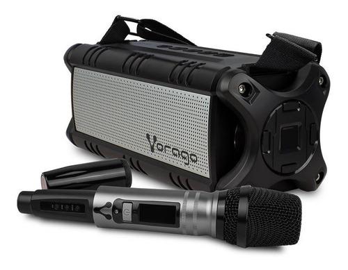 Bocina Vorago Ksp-450 Bluetooth Karaoke Micrófonoinalámbrico