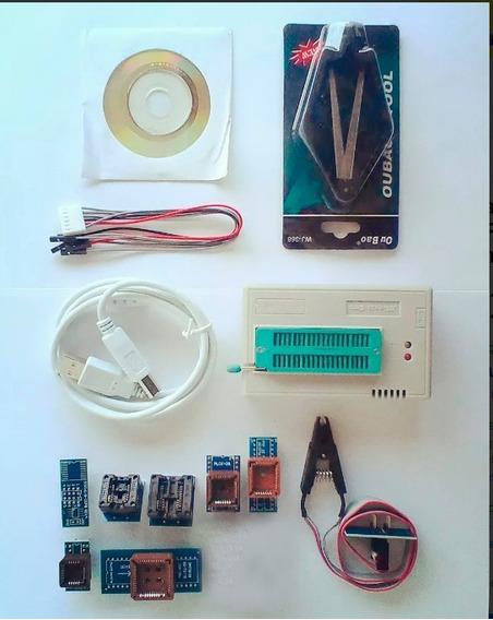 Gravador Minipro Tl866cs Bios Pic Atmel Spi Flash Eprom Gal