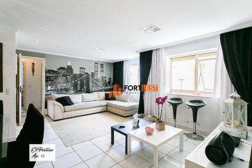 Apartamento Com 3 Dormitórios À Venda, 96 M² Por R$ 692.000,00 - Tatuapé - São Paulo/sp - Ap0119