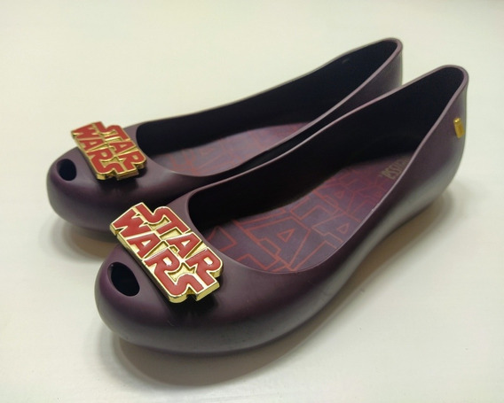 Zapatos Melissa Goma Ed Limitada Star Wars Talle 6 Us 23 Cm