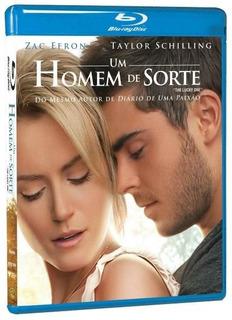 Blu-ray Original Do Filme Um Homem De Sorte ( Zac Efron)