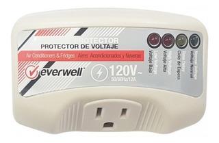 Protector De Voltaje Para Nevera 110v 12amp Everwell