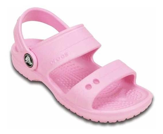 Zapato Crocs Unisex Infantil Classic Sandal Rosa