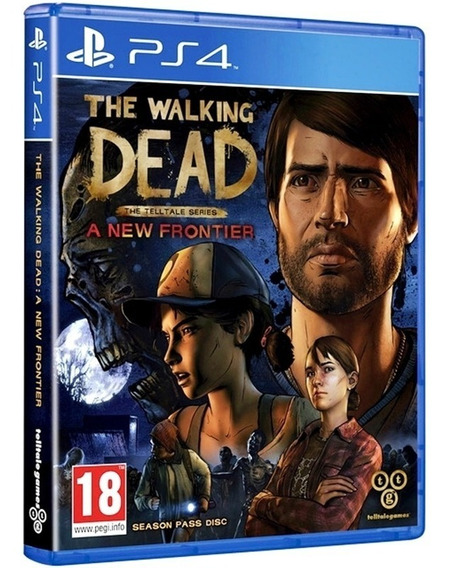 Jogo The Walking Dead A New A New Frontier Ps4 Midia Fisica