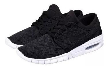 Zapatillas Nike Sb Mod Stefan Janoski Max Negro Negro!!!