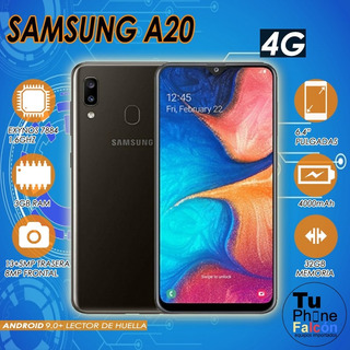 Samsung A20 3gb Ram 32gb + Micro Sd Adicional De 32 Nuevo