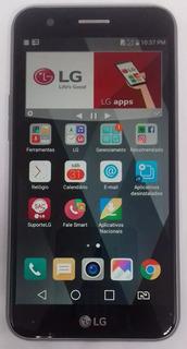 LG K10 Novo 2017 M250ds 32gb Titanium Original Semi Novo