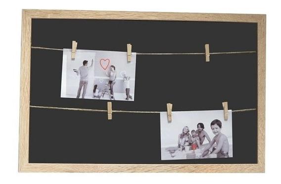 Porta Retrato Mdf 50x30 Varal Fotos 10x15 Mabruk