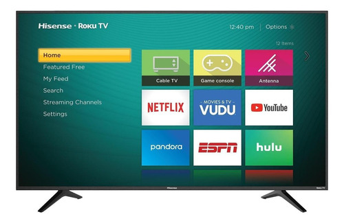 """Smart TV Hisense R6 Series 55R6E LED 4K 55"""""""