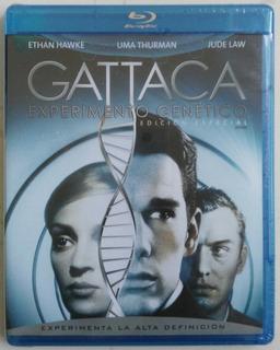 Gattaca Experimento Genético Blu Ray Película Nuevo
