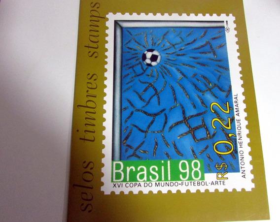 Ano Completo Selos Brasil 1998