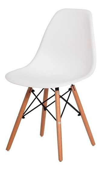 Cadeira New Charles Eames Eiffel Wood Envio Imediato