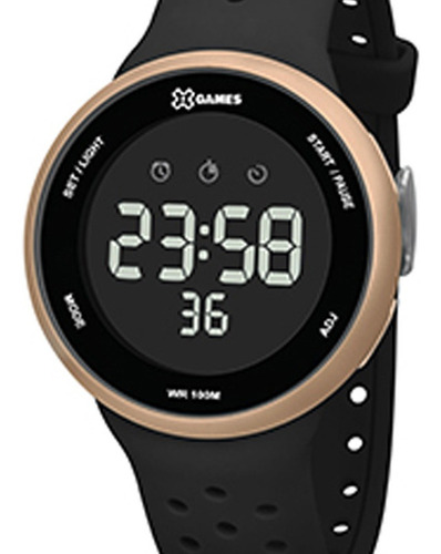 Relógio X-games Unissex Xmppd547 Pxpx C/ Garantia E Nf